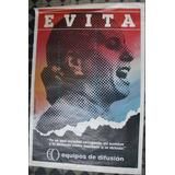Afiche De Calle Evita Eva Peron Peronismo Justicialismo