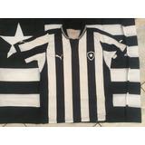 Camisas Femininas M G Gg E Bandeira Oficial Do Botafogo Fc