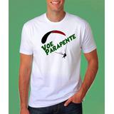 Camiseta Parapente Paraglider Voo Livre