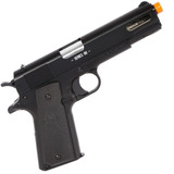 Pistola Airsoft Colt 1911 Mola Slide Metal 6mm Cybergun