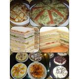 Lunch Salado Para 20 Personas + 2 Tartas Frutales Eventos !