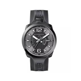 Reloj Bomberg Bolt Bs45gmtpba.005.3 Nuevo Y Original