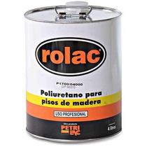 Laca Poliuretanica Plastificante Pisos Rolac Petrilac 10lts