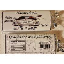 Chocolates Personalizados Bautizo Baby Nacimiento Xv Boda
