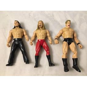 3 Luchadores De La Wwe Lucha Libre De Colección