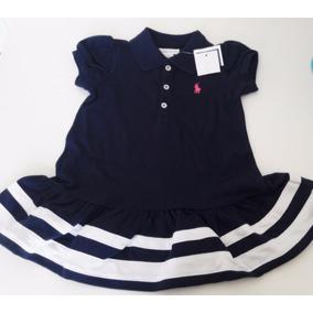 Vestido Polo Ralph Lauren Infantil Menina Original 12m