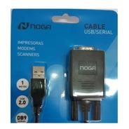 Cable Adaptador Usb/serial Rs232 Db09 Simil Manhattan Fiscal