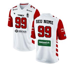 Camisa Jersey T-rex Futebol Americano Oficial Personalizada