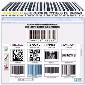 Generador Codigo De Barra Excel Word Acces