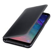 Funda A6 Plus Original Samsung Galaxy Wallet Flip Cover 2018