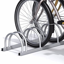 Aparca Bicicletas Triple De Aluminio Alfer Gris 2921