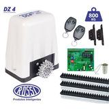 Kit Motor Portão Eletrônico Rossi Dz 4 Turbo 1/2