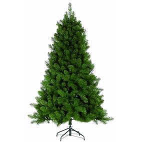 Árvore Natal Pinheiro Gigante Imperial Verde 2,10m 800galhos