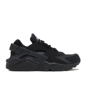 zapatos nike huarache negras