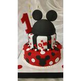 Tortas Decoradas Infantiles,de Mickey X 3kg Decorada Total