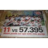 Poster Doble Diario Ole River Plate En La Boca 2004 11 Vs...