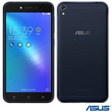 Celular Zenfone Live Preto Asus Tela 5 4g 32gb 13mp Zb501kl