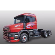 Jg De Faixa Decorativa Caminhão Scania 124 2000 Lilas 3m Kit