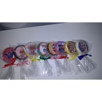 Pirulito De Chocolate Personalizado - 12 Unidades