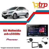 Multimidia Onix 2017 Pioneer 5880 Dvd Tv 2 Din Lançamento