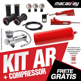 Gm Kadett - Suspensão Ar 8mm Com Compressor Macaulay Oficial