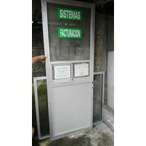 Puertas Aluminio Vidrio Oficinas Negocios