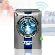 Lavarropas Drean Inverter Wifi 8kg 1400 Rpm Gris 8.14 Wcrg