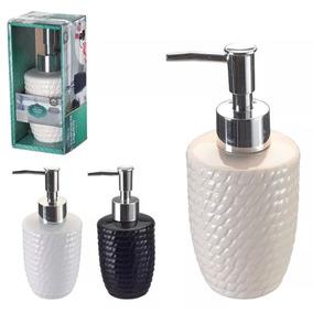 Saboneteira Porta Sabonete Liquido Dispenser Porcelana