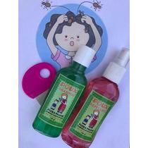 Shampoo Piojos + Repelente + Peine Niños Familia Eliminar
