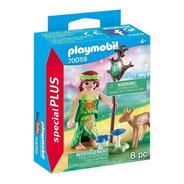 Playmobil Special Plus 70059 Hada Con Ciervo Original Intek