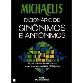 Livro: Michaelis - Dicionario De Sinônimos E Antônimos Raro