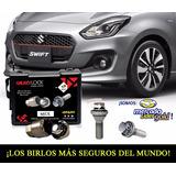 Antirrobo Rines Suzuki Swift 2018 Booster Jet Aut - Nuevo!