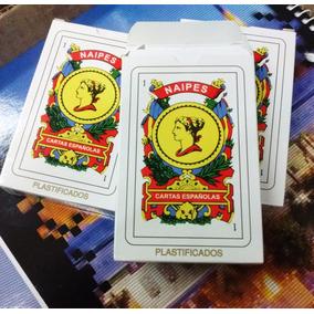 mazo de naipes españolas x 50 cartas naipes españoles en mercado