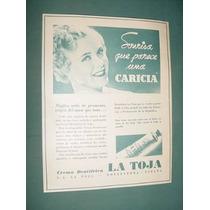 Publicidad Antigua Jabones La Toja Dentrifico Sonrisa Carici
