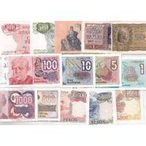 Argentina, 20 Billetes Diferentes En Estado Muy Bueno !!!