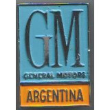 Chevrolet-insignia Placa Gm Grande-general Motors Argentina