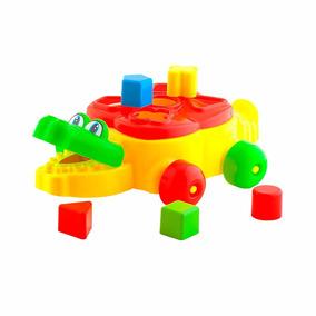 Brinquedo Jacaré Educativo