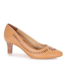 Sapato Scarpin Feminino Comfortflex - Caramelo