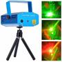 Projetor Holográfico Canhão Laser Festas Strobo Efeitos Luz