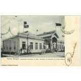 Porto Alegre-cartão Postal-exposição Estadual De 1901