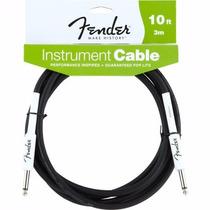 Cable Fender Para Instrumentos Plug-plug 3,30m C: Blk