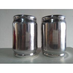 Mate De Madera, Forrado En Aluminio, Recto, Ideal P / Plotea