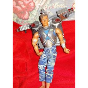 Boneco Da Mattel - 1998 -roupa Camuflagem - Articulado -ação