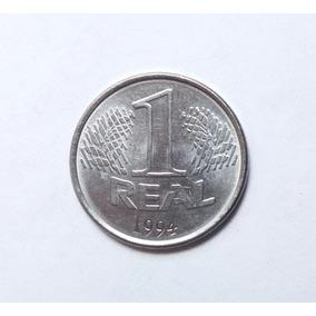 Moeda 1 Real 1994 Rara
