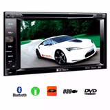 Dvd 2 Din E Tech Player Rca Double Din / Usb / Bluetooth Som