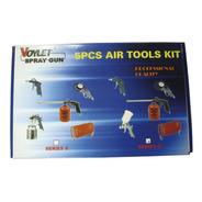 Set Kit De Aire Para Compresor 5 Piezas Profesional!!!!