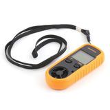 Anemómetro Digital Temperatura Medidor Velocidad Viento