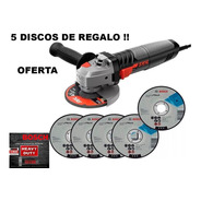 Amoladora Angular 115mm 4 ,skil 9004  830w 11.000rpm+ 5disco