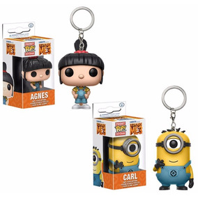 Funko Pop Llavero Minion Carl Agnes Mi Villano Favorito