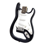 Onas Guitarra Electrica Stratocaster Ghost Black Bolt On
